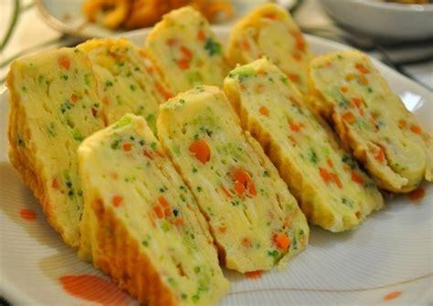 cara membuat telor gulung jajan sd cara membuat tamagoyaki telur dadar gulung khas jepang