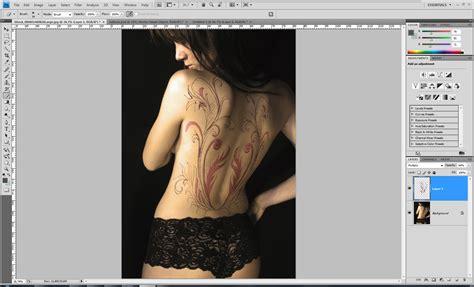 tutorial photoshop tattoo tutorial photoshop 11 tattoos pplware