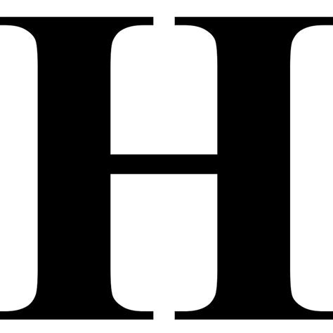 letter h typography the letter h fontscom models picture