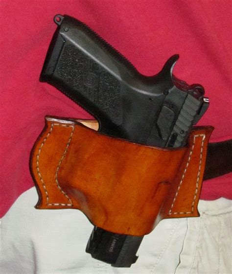 Handmade Holsters - handmade leather gun holster by ozark mountain leather