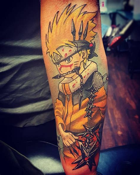 naruto tattoo 70 fabulous designs big and be hokage