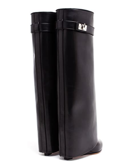 Givenchy Jerich Shoes Set 4 In 1 givenchy shark lock knee high leather wedge boots in black