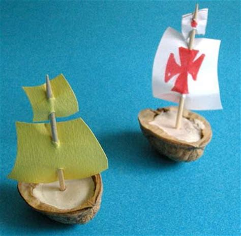 boat making games toys craft and games make a boat from nutshell
