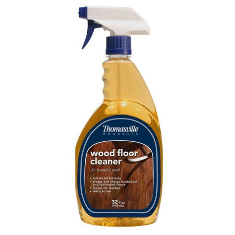 thomasville  oz wood floor cleaner   home depot