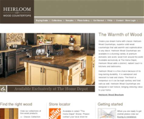 heirloomcountertops heirloom custom wood countertops