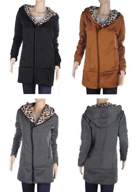 Jaket Hoodie Deus Import Quality 4 s fashion zipper leopard hooded jacket s