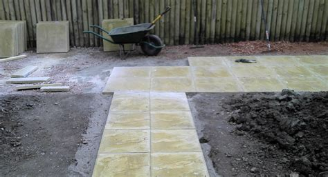 How To Lay Patio Slabs by Calne Path And Patio Create Landscaping