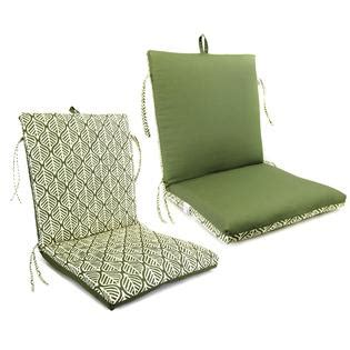 essential garden thubron clean look chair cushion