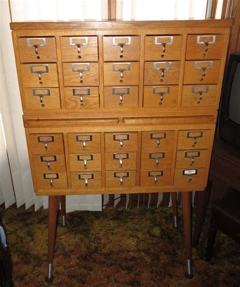 antique library card file cabinet antique 30 drawer oak library card file cabinet 2 pull