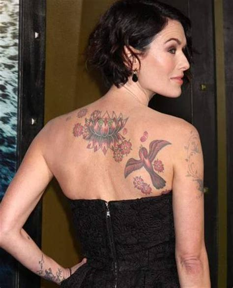 lena headey tattoo lena headey tattoos tattooed