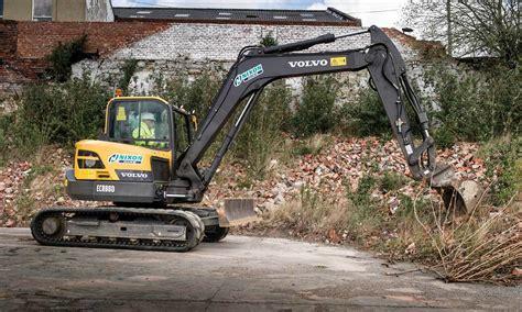 8 9 tonne excavator volvo ecr88d