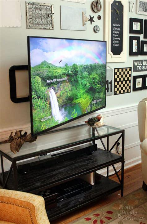 hidden tv in bedroom youtube wall mounted tv with hidden wires tutorial