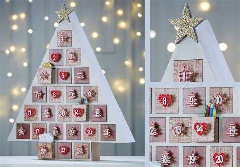 traditional advent calendar tree hobbycraft