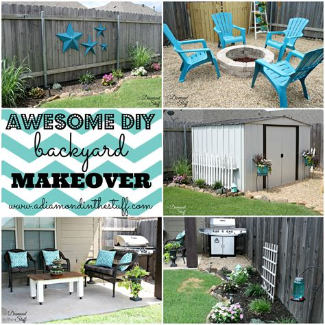 diy small backyard awesome diy backyard makeover