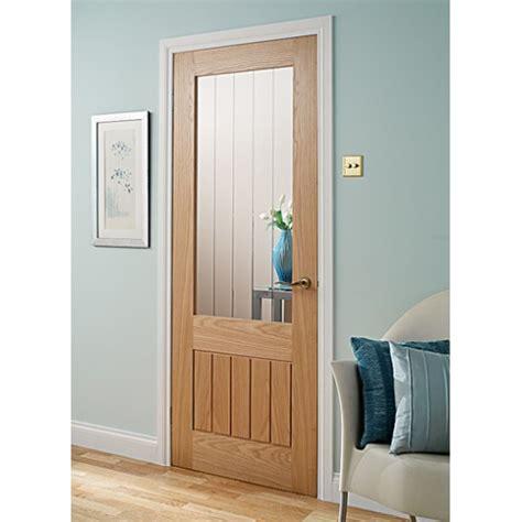 Oak Glass Doors Doras Mexicana 1lite Oak Glass Door