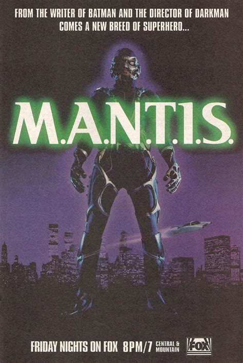 m a n t i s tv series 1994 imdb heroes4us m a n t i s tv s first african american