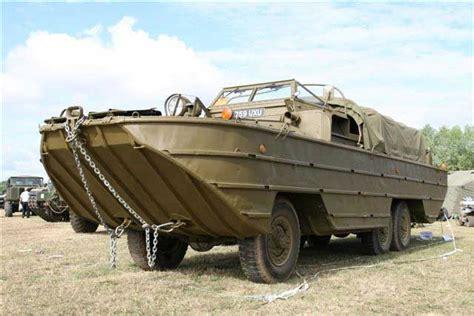duck boat ww2 dukw hibious military vehicle hibious