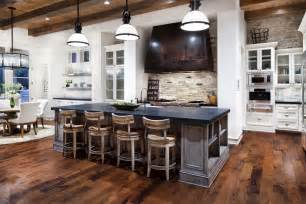 country kitchen island ideas hill country modern in austin texas by jauregui architects