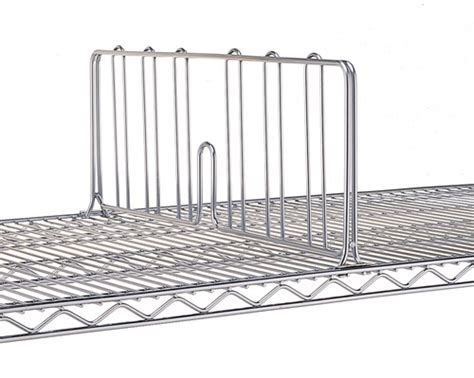 jdd24c 8 quot high wire shelf divider 24 quot deep olympic wire
