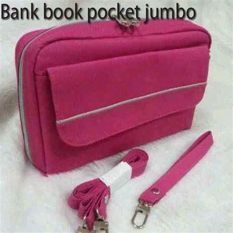 X 1buah best product bank book pocket jumbo baru