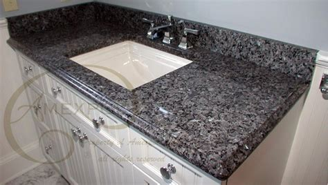 blue pearl granite backsplash blue pearl granite vanity top with 4 quot backsplash ogee ege