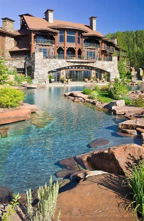 luxury homes my backyard could look like pinterest elaborate pond luxury home pictures photos and images