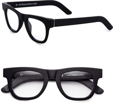 retrosuperfuture matte optical ciccio eyeglasses in black
