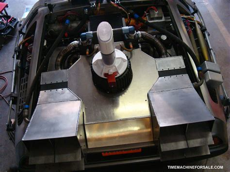 real flux capacitor for sale delorean time machine for sale