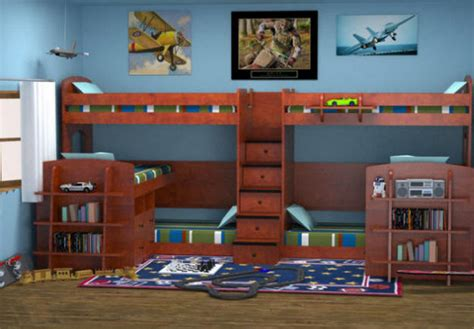 4 Person Bunk Bed Six Stairway Bunk Beds From Totally Furniture