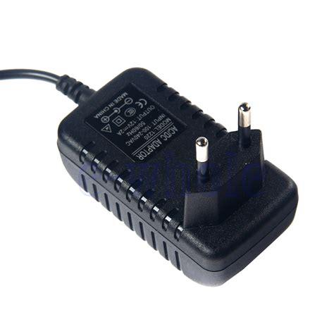 Adaptor Cctv 12v 2a By E Support eu ac100 240v power supply adapter transformator 2a 12v 5