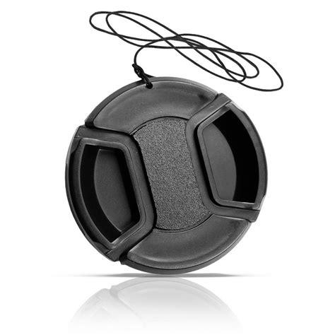 Lens Nikon 52mm lens cap nikon 52mm tanpa logo black jakartanotebook