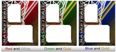 Basketball Card Template Photoshop