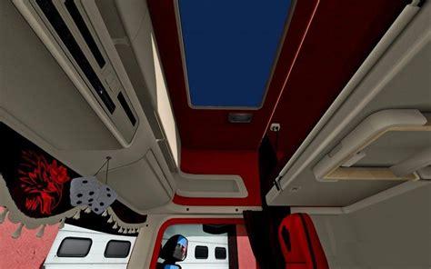 scania rjl cmi interior  mod  ets euro truck