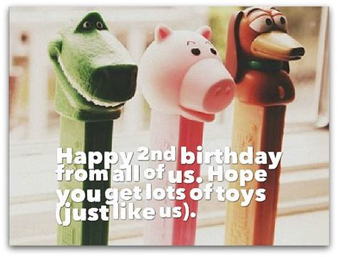 Happy Birthday Quotes For 2 Year 2nd Birthday Wishes Birthday Messages For 2 Year Olds