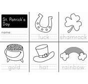 St Patrick's Day Worksheet &amp Coloring Book