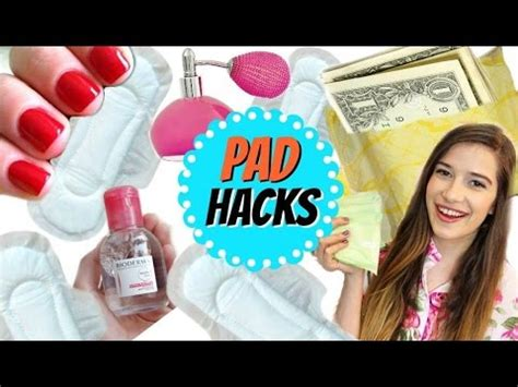 diy hacks youtube 8 diy pad life hacks all girls need to know period