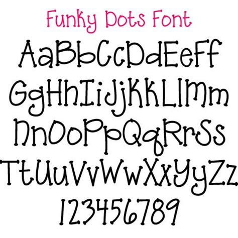 free doodle dot font 15 best funky lettering images on funky fonts