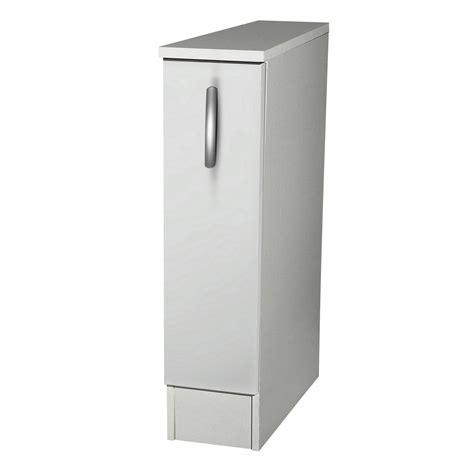 meuble de cuisine bas 1 porte blanc h86 x l15 x p60 cm