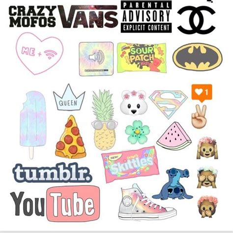 printable hipster stickers tumblr stickers google search stickers pinterest