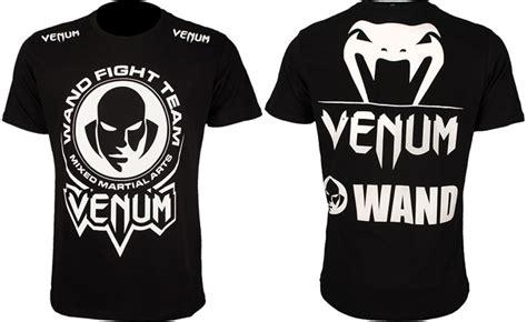 Venum Fight Team Shirt Black venum wanderlei silva fight wear collection
