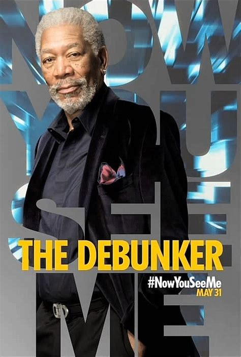 freeman in now you see me now you see me character posters and