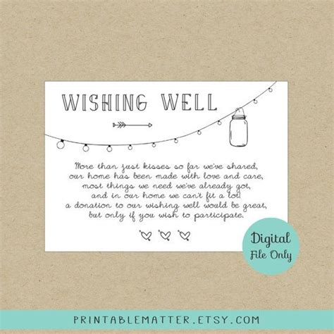 Wishing Well Cards Free Templates by Best 25 Wishing Well Poems Ideas On