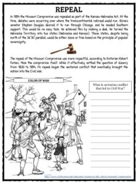 missouri compromise map activity answer key missouri compromise worksheet mmosguides
