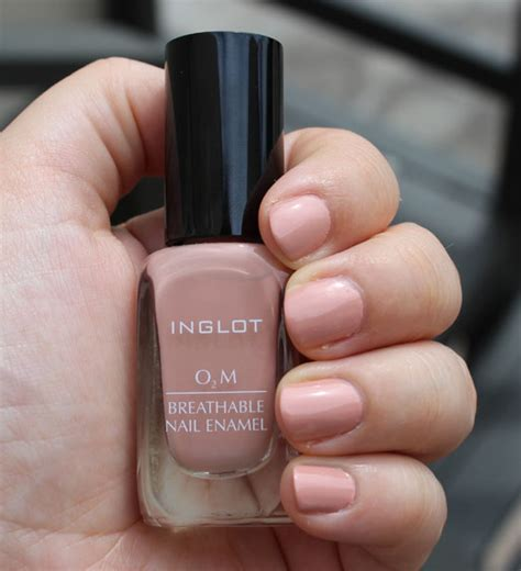 new inglot o2m breathable nail enamel colors my bunny