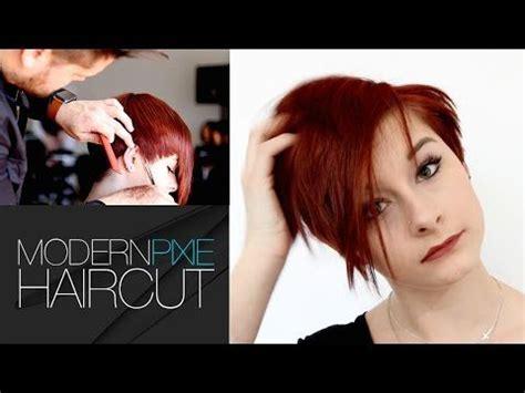 tutorial on trimming pixie cut how to modernize a pixie haircut tutorial matt beck vlog