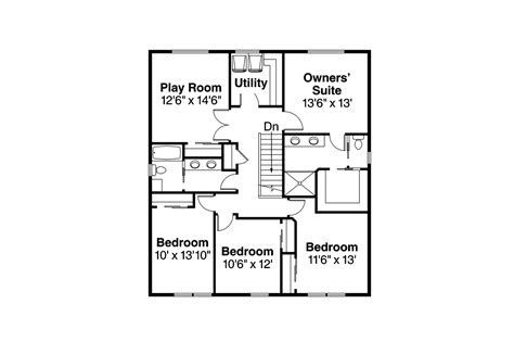 cape cod 2nd floor plans cape cod house plans hanover 30 968 associated designs
