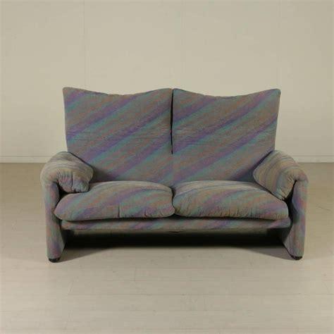 maralunga sofa maralunga two seat sofa by vico magistretti for cassina