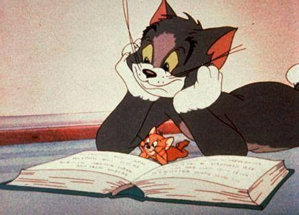 tomcat my reading tom jerry reading a book stole my
