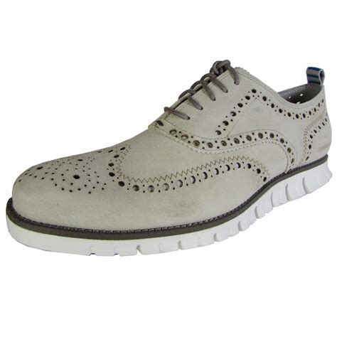 mens casual oxford shoes cole haan zerogrand wingtip casual oxford shoe ebay