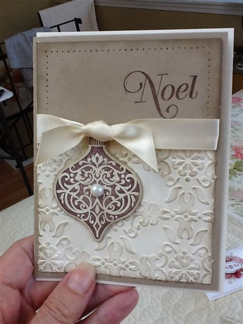 Easy And Beautiful Handmade Cards - beautiful handmade card rub ink an embossed